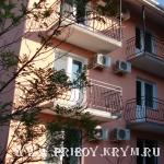 Крым  Отдых курорт Саки Дом отдыха Апельсин